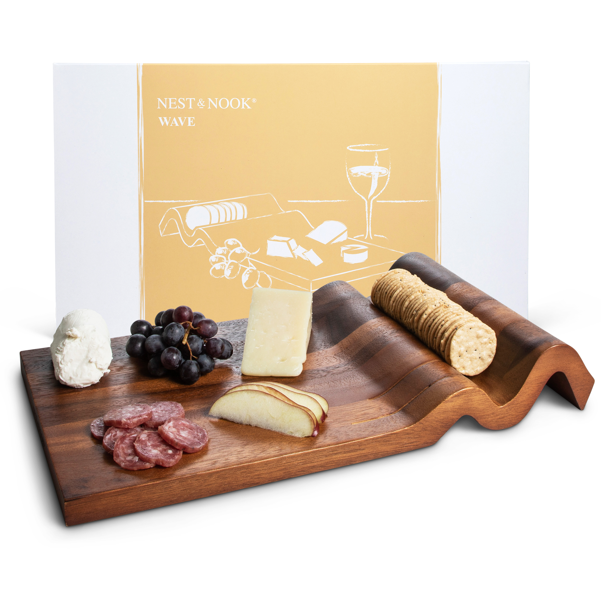 Wave <br>cheese board <br>(out of stock)