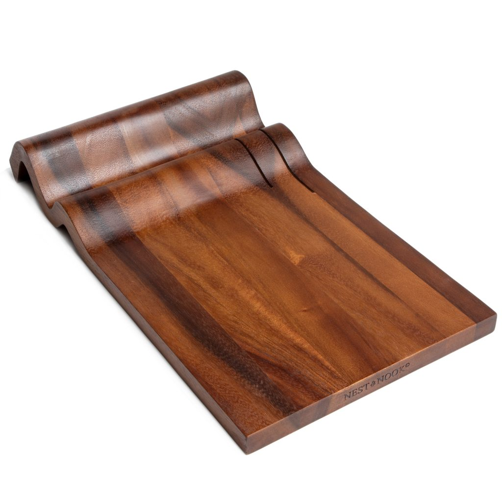 Wave charcuterie board cheese serving tray