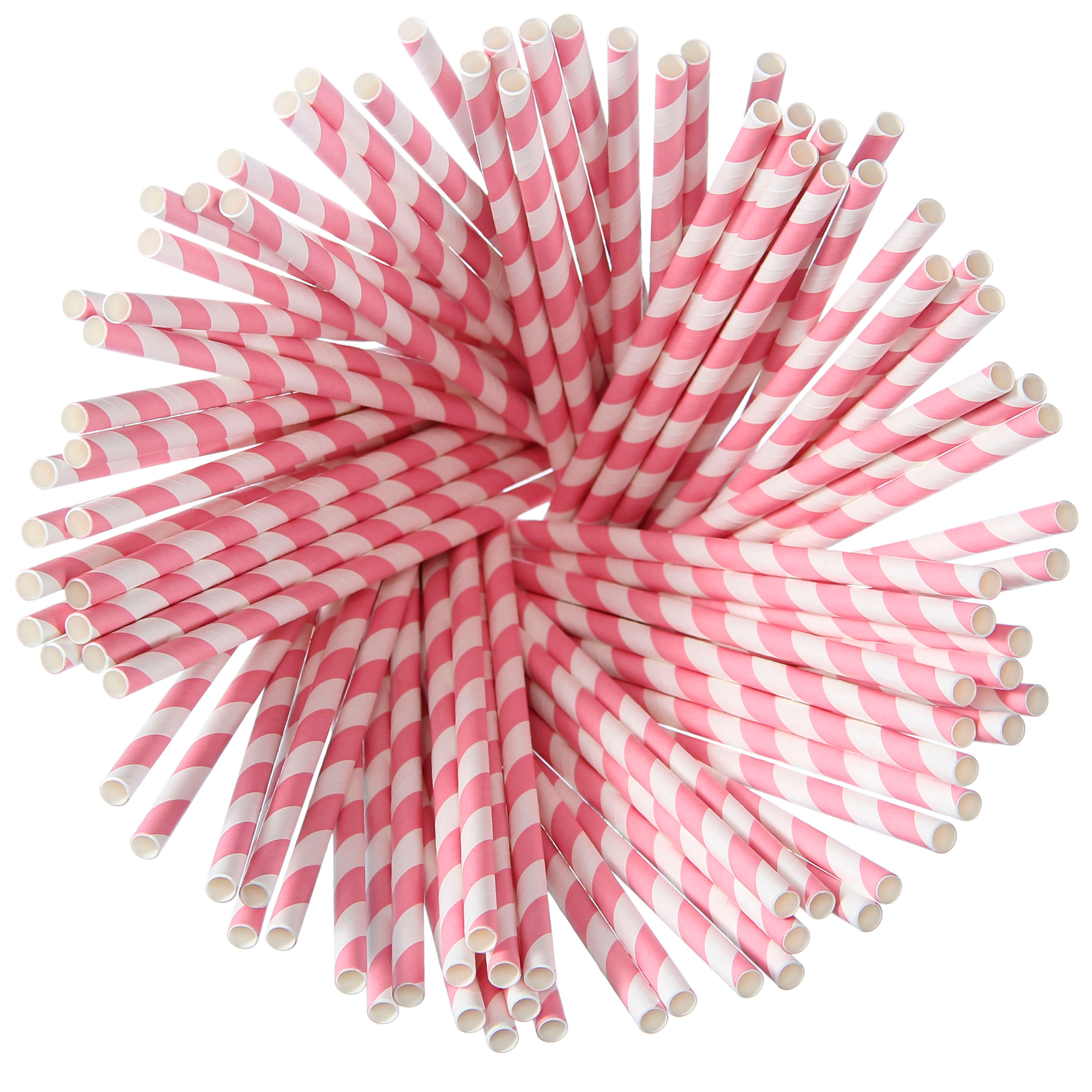 Paper Straws – <br>Pink