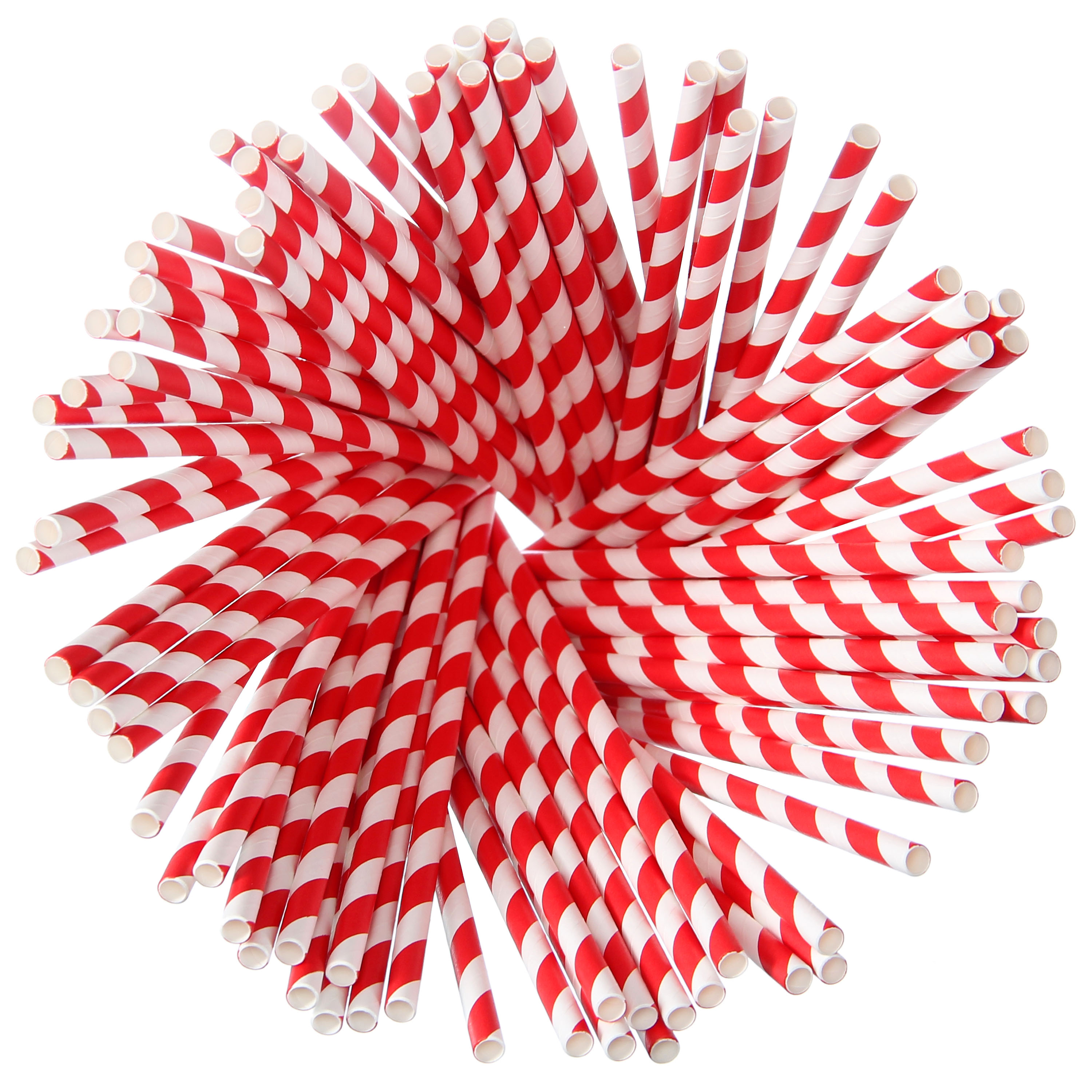 Paper Straws – <br>Red